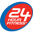 24 Hour Fitness gym logo