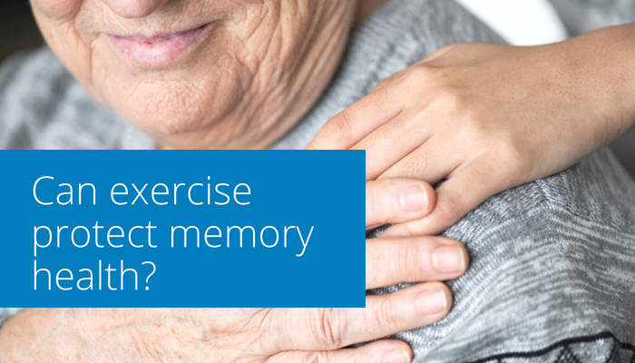 Can exercise protect against Alzheimer's Disease?