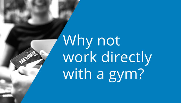 Why not work directly with a gym for your corporate wellness?