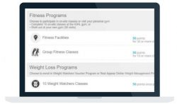Screenshot of activity bunches screen