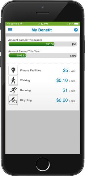 Gym and Exercise Reimbursements